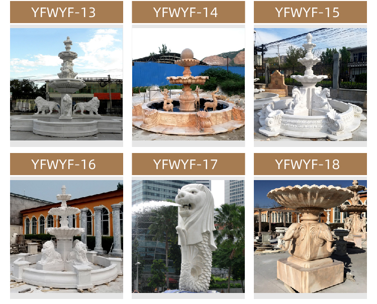 Online Marble Fountain Sales Offer Marble Animal Fountain with Horse for Sale MOKK-02