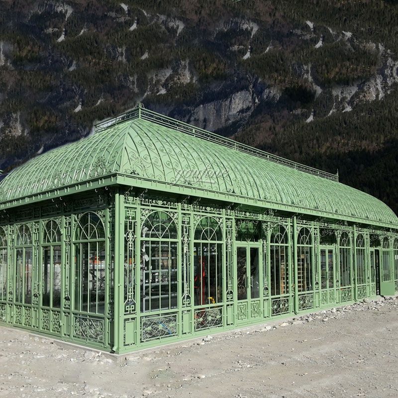 Wrought Iron Green House