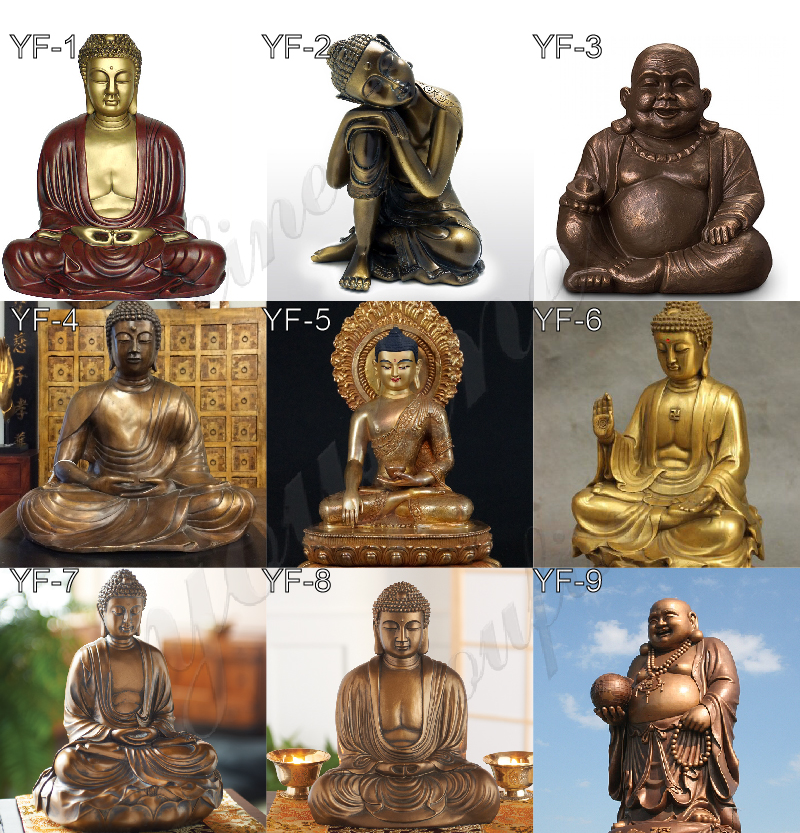 Lifesizes Sitting Casting Bronze Buddha Statue for Sale BRBD-04