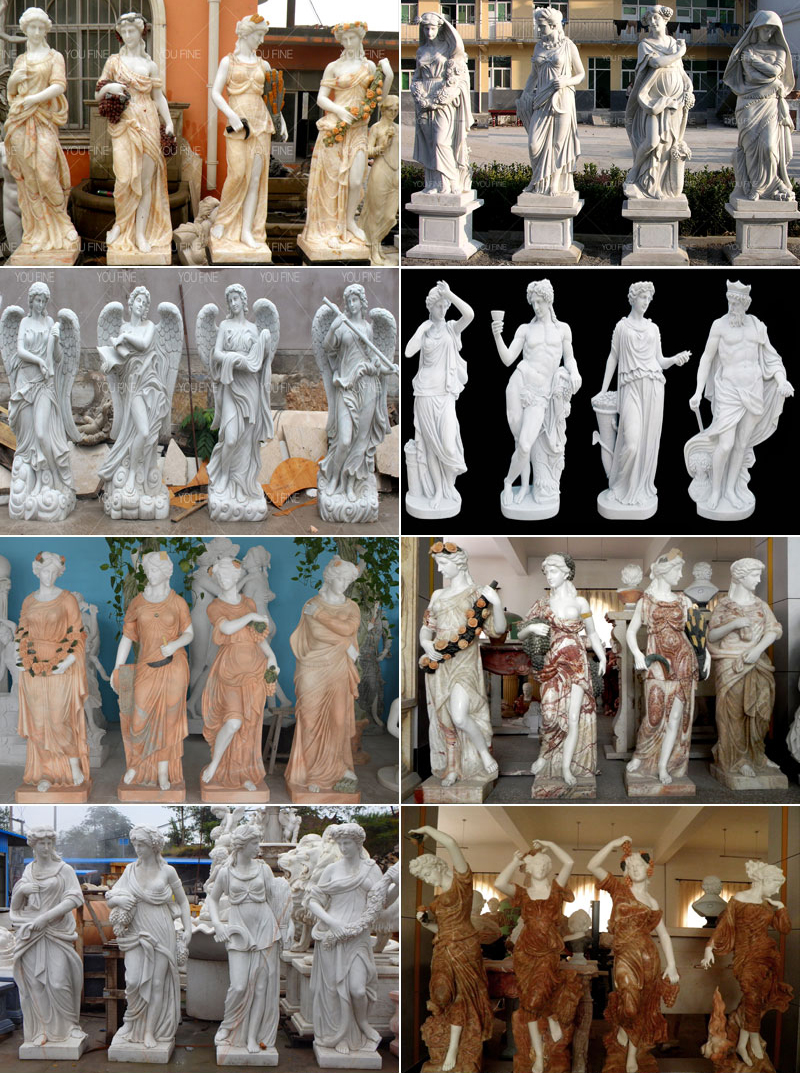 four season statues for sale