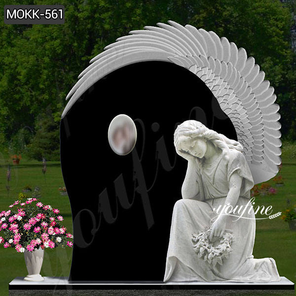 High Quality Marble Angel Monument