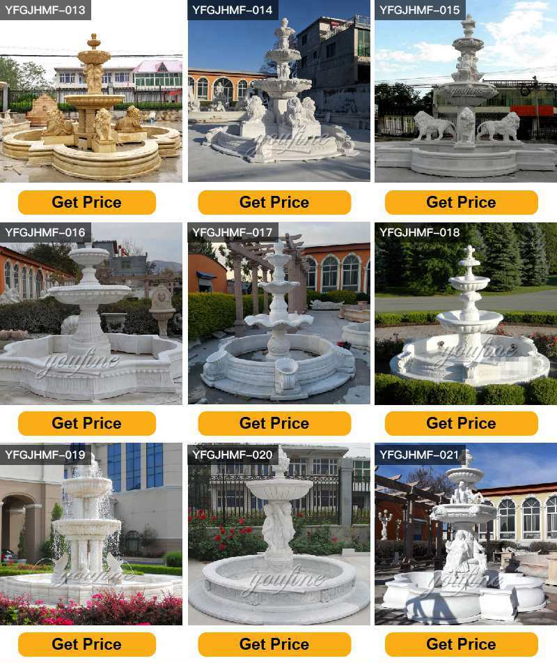 Marble Multi-layer Fountain