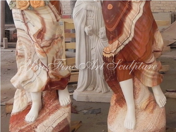 Life Size Famous Marble Centaur Chiron Statue