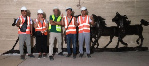 Our Dubai bronze horse sculpture Project Installed Successfully