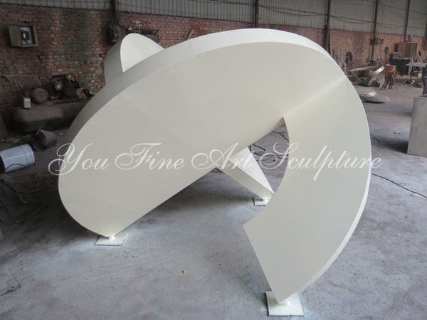 Outdoor High quality abstract stainless steel sculpture