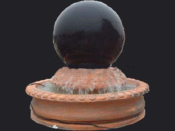 Marble Water Ball Sphere Fountain Carving