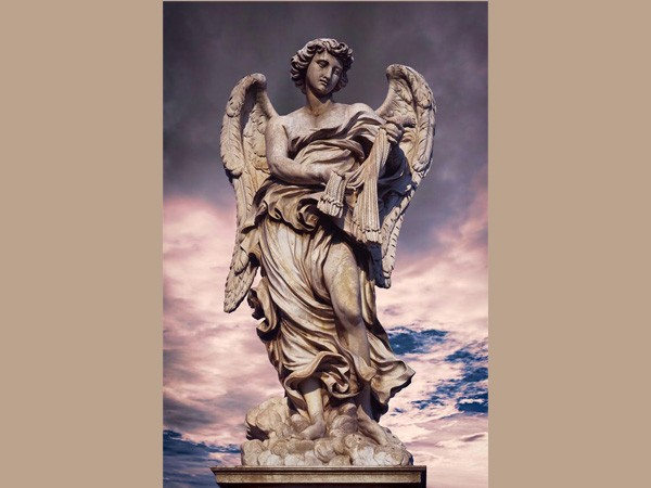 modern large outdoor retail online shopping marble angel statue